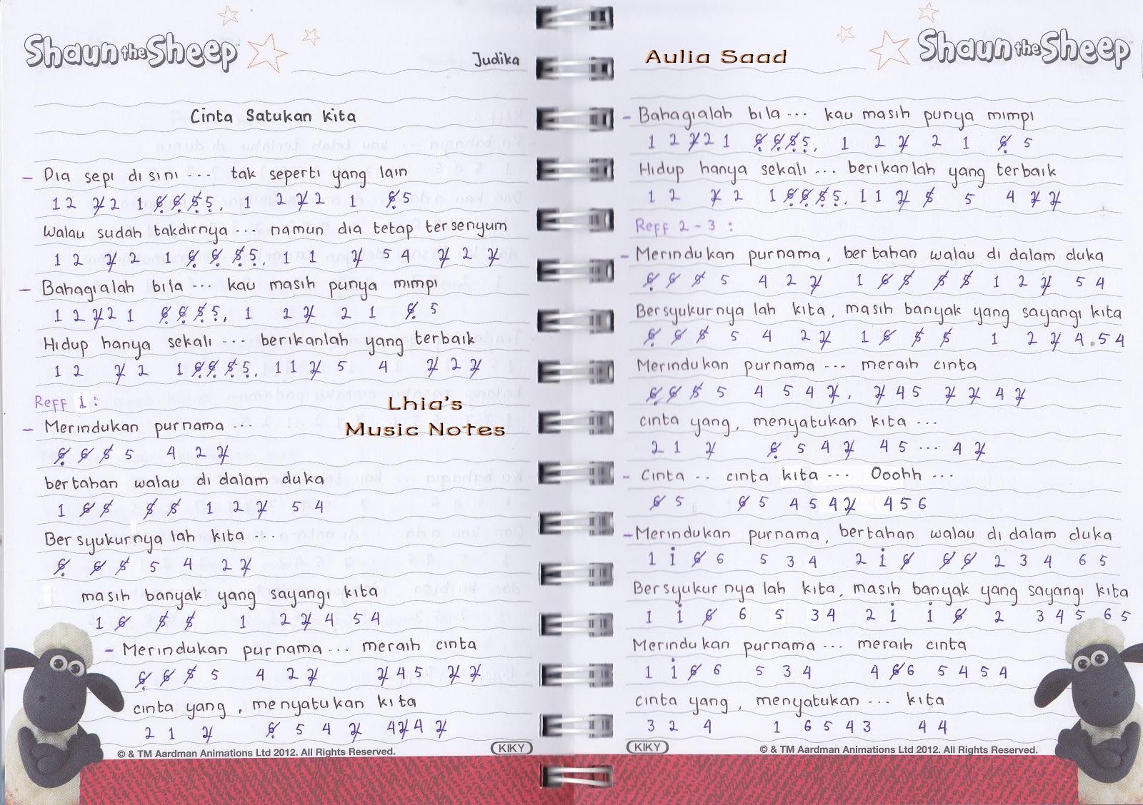 Energian Saastothese Surat Cinta Starla Lirik Chord