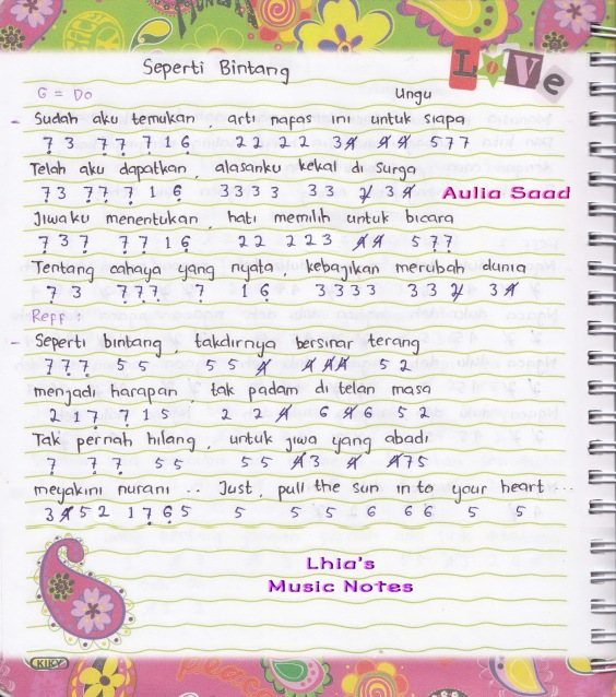 Download Lagu Dangdut Meraih Bintang: Kumpulan Not Angka Lagu Nasional, Pop