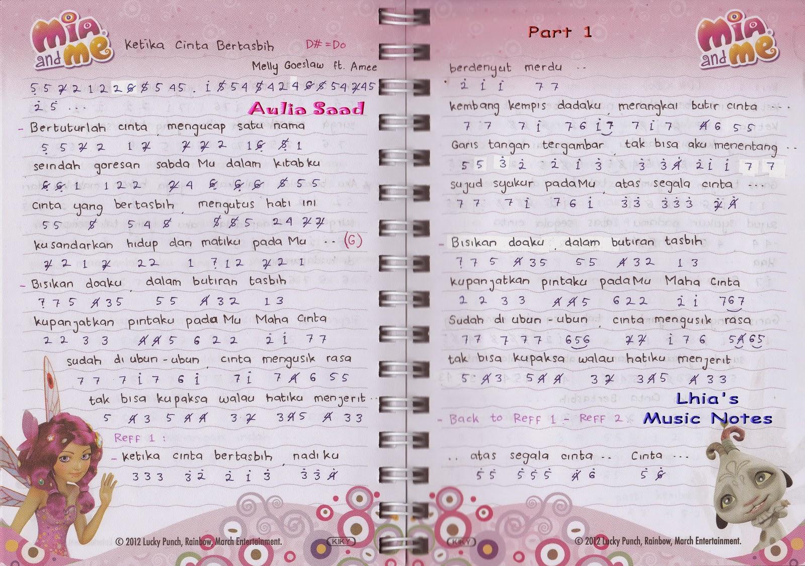 Chord Lyric Bunda By Melly Goeslaw Lyrik Telmira Youtube ...